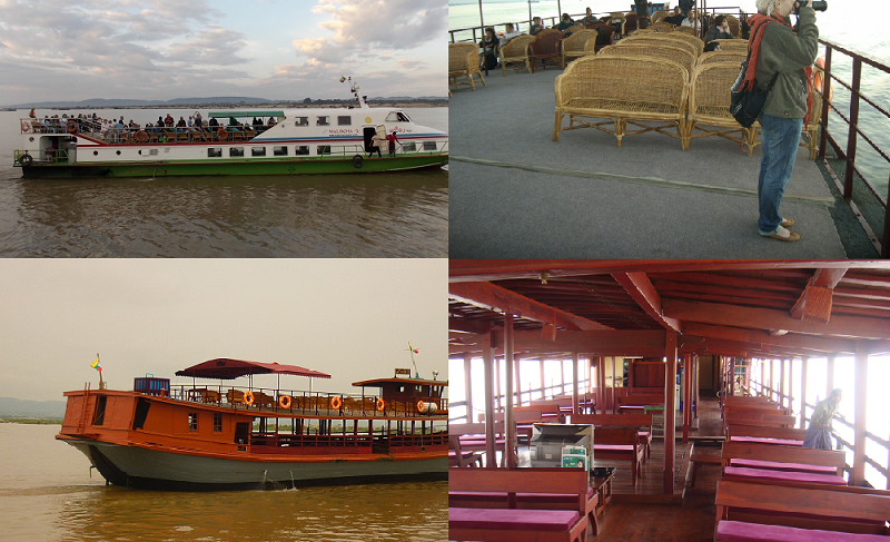 Mandalay ~ Bagan River Cruise (Boat) Ticket Booking