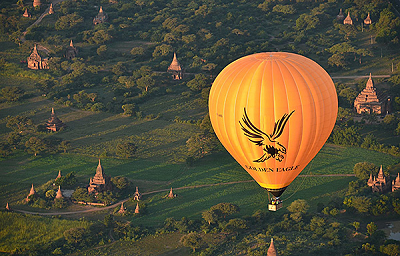 Hot air Balloon in Bagan (Golden Eagle Ballooning) Booking